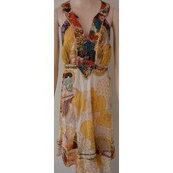 Desigual dámské šaty žluté 42