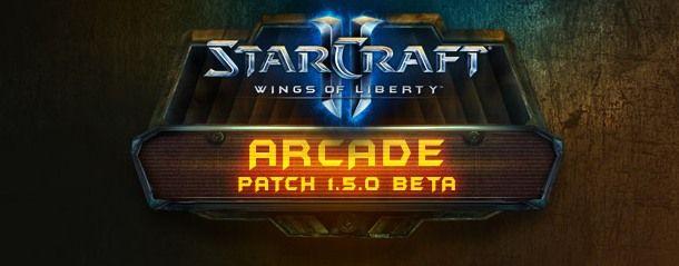 StarCraft 2 patch 1.5.0 beta unveils Arcade
