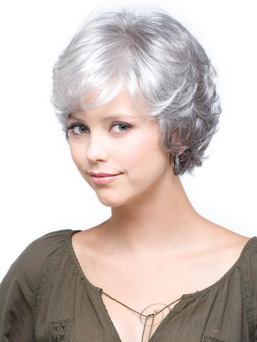pixie haircut wigs the charming wavy wig sets a sweet wind 5341