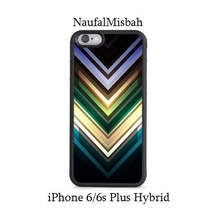 Colorful Chevron iPhone 6/6s PLUS HYBRID Case
