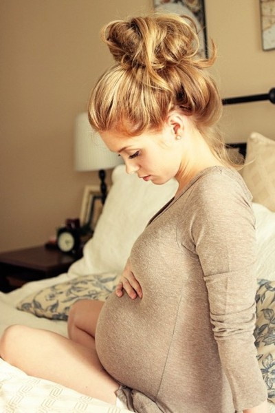 Awwww, can I stay cute and skinny while pregnant? lol. ahhhh, next time!