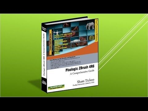 Book trailer: Pixologic ZBrush 4R6: A Comprehensive Guide book from CADCIM Technologies.