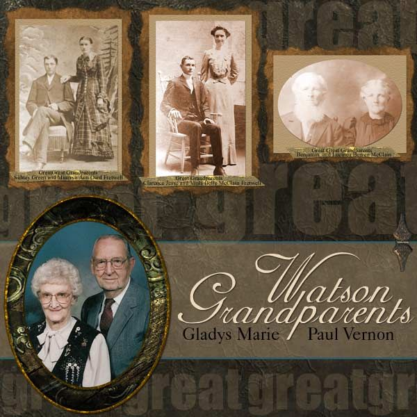 several generations... it would be great to have these photos!