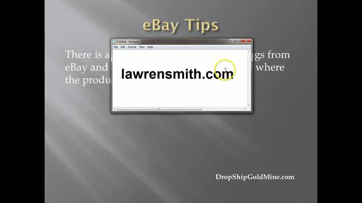 Now only will you learn how to get started on ebay, but this video tutorial on how to sell on ebay reveals secret formula to selling on ebay. >> how to sell on ebay, selling on ebay --> http://lawrensmith.com/how-to-sell-on-ebay-tutorial-for-beginners/