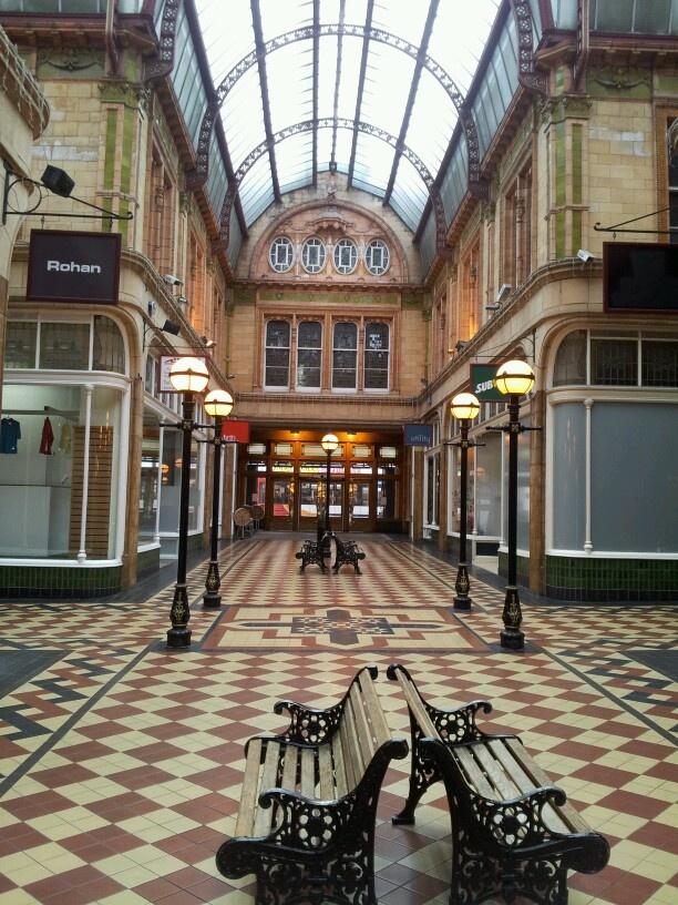 Miller arcade Preston Lancashire. http://www.uk-tefl-local.com #preston. I spent many an hour in this lovely arcade.