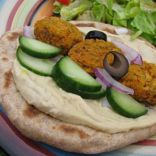 Baked Sweet Potato Falafel | Made Just Right by Earth Balance #vegan # ...