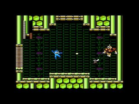 Hornet Man from Mega Man 9, defeated by steg140. Don't waste your Magma Bazooka on the friends Hornet Man summons. Aim for the source.