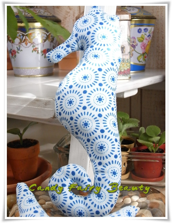 Seahorses, use Tilda Fabric