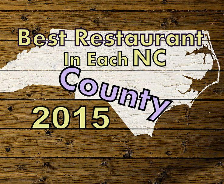 Best Restaurant In Each North Carolina County 2015 logo B