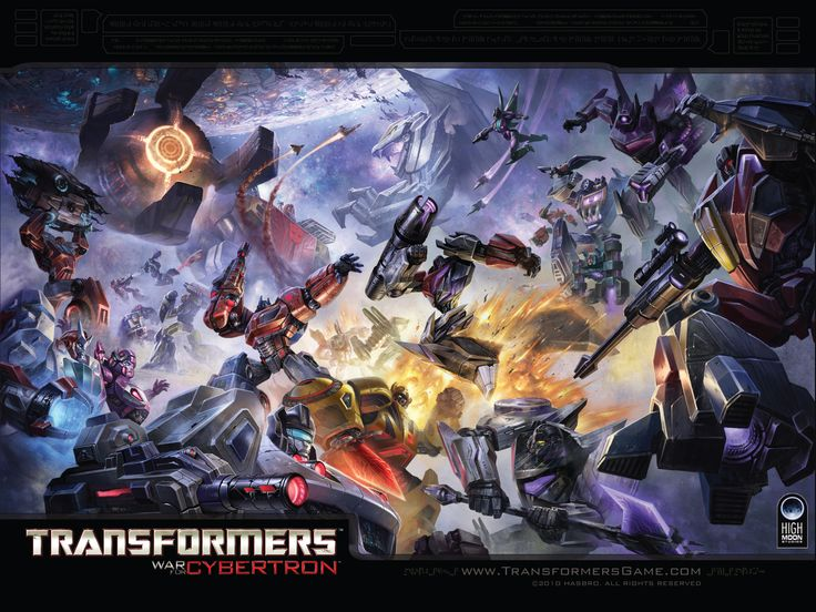 My two loves: Video games and transformers <3
