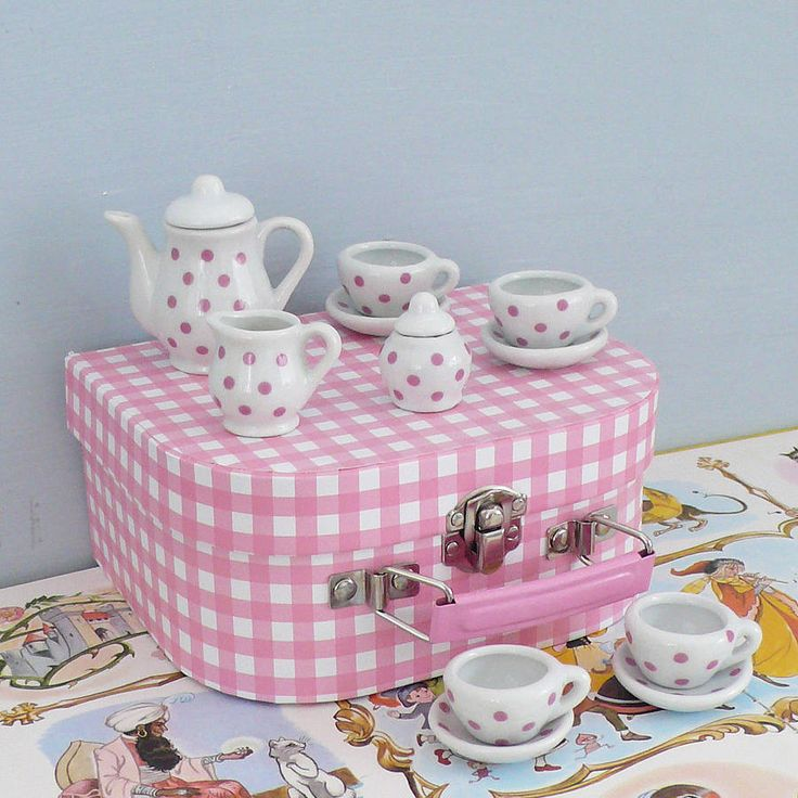 17 Best Images About Tea Party Sets For Kids On Pinterest
