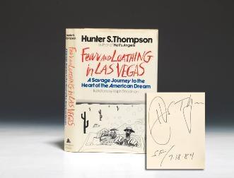 THOMPSON, Hunter S. Fear and Loathing in Las Vegas. New York: Random House, (1971)