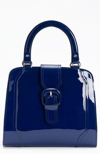 MARNI - Yves Klein blue patent handbag.