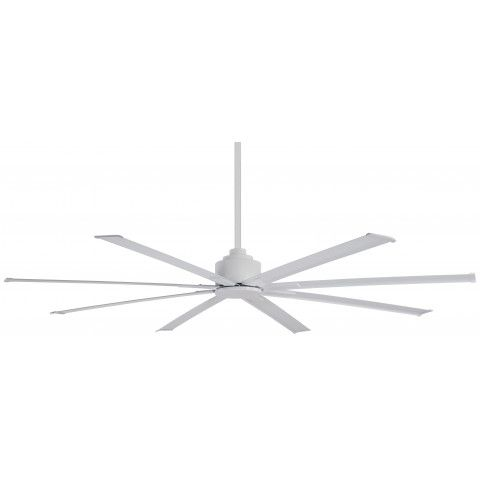"""Minka Aire F886-65-WHF 65"""" Wet Rated Xtreme H2O Ceiling Fan Motor in Flat White"""