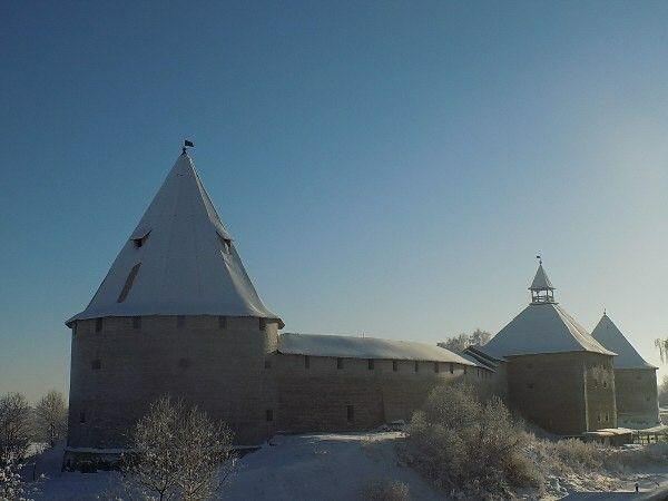 Крепость. Старая Ладога.