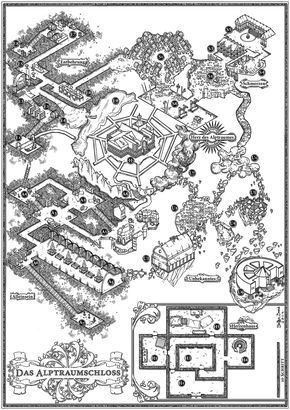 A great piece of clean dungeon design from the Cartographers' Guild