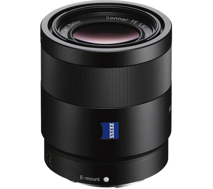SONY  Sonnar T* FE 55 mm f/1.8 Zeiss Standard Prime Lens Price: £ 713.00 Enjoy superior performance from the Sony Sonnar T* FE 55 mm f/1.8 Zeiss Standard Prime Lens thanks to combined advanced technology from Sony and ZEISS. Bright aperture Ideal for portraiture, landscapes and more, the FE 55 mm f/1.8 is compatible with full-frame E-mount and APS-C bodies. The large maximum aperture of f/1.8...