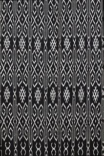 Detail of a Marilotong textile from West Sulawesi