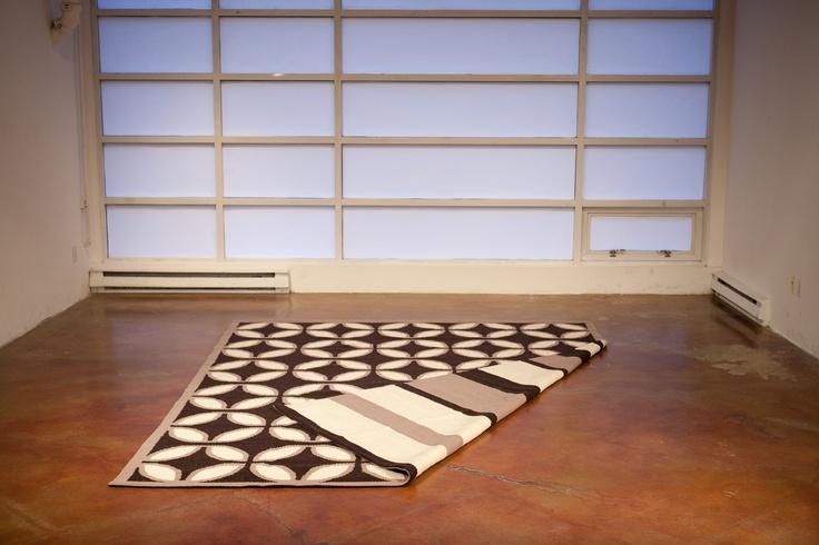 100% Llama reversible rug direct for the weavers of Peru! www.sumaqrugs.com