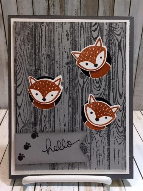 Foxy Friends Stampin Up (Stamping With Tamie)