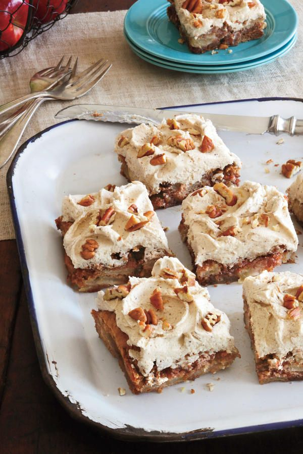 Fresh Apple Cake - The Best Super Bowl Desserts for Your Party - Southernliving. Recipe: Fresh Apple Cake