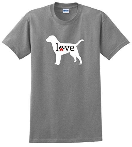 Cotton Low Price Top Tee For Short 100% Cotton Labrador Retriever Love Dog Paw Prints. Brand Name: GILDANStyle: FashionSleeve Length(cm): ShortMaterial: CottonCollar: O-NeckSleeve Style: RegularPattern Type: PrintHooded: NoFabric Type: BroadclothItem Type: TopsTops Type: TeesGender: MenThickness: StandardStyle: Fashion & Casual & NoveltySize: S M L XL XXL XXXL(Need customized)Color: Black,White,Grey,Blue,Navy,Purple,Red,Army GreenOcassion: Game Club/Party/Streetwear/Dancing/Rap/Hip…