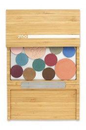 Palette de maquillage (vide) - Bamboo Box - Zao