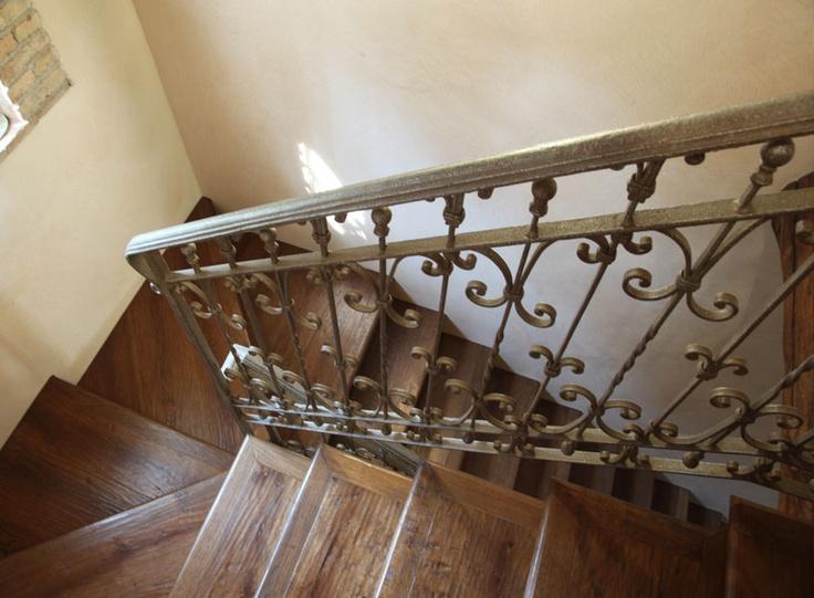Ferroartistica, wrought iron stair - scala in ferro battuto