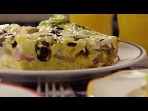Egg Recipe - Baked Omelet Squares | Breakfast/Brunch | Pinterest