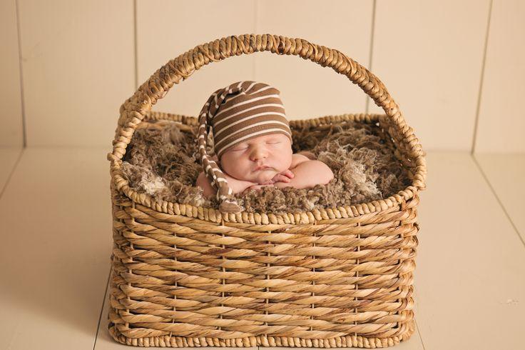 Newborn in a basket <3