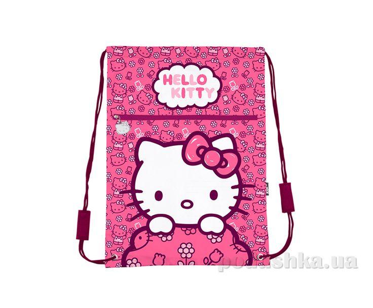 Сумка для обуви с карманом Kite Hello Kitty 601-2