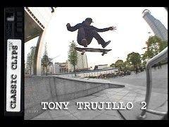 Tony Trujillo Skateboarding Classic Clips #182 Part 2 China - http://DAILYSKATETUBE.COM/tony-trujillo-skateboarding-classic-clips-182-part-2-china/ - http://www.youtube.com/watch?v=hFbcHTOmDIE&feature=youtube_gdata  Tony Trujillo lighting up the spots across the Pacific in China in his 2nd Classic Clips. For more Skateboarding Classic Clips EVERY THURSDAY please subscribe: http://www.youtube.com/user/Skateint ... - 182, china, classic, clips, part, skateboarding, tony, truj