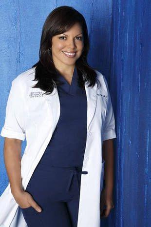 Sara Ramirez alias Callie dans Grey's Anatomy