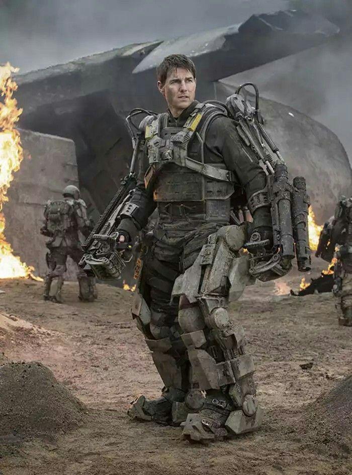 "Tom Cruise en ""Al Filo del Mañana"" (Edge of Tomorrow), 2014"