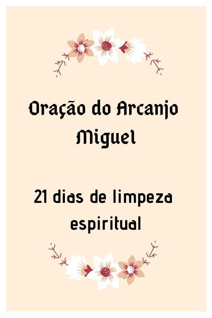 486c3076 21 Dias De Limpeza Espiritual Com A Oracao Do Arcanjo
