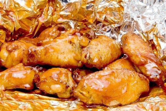 Куриные бедра с лимоном и имбирем