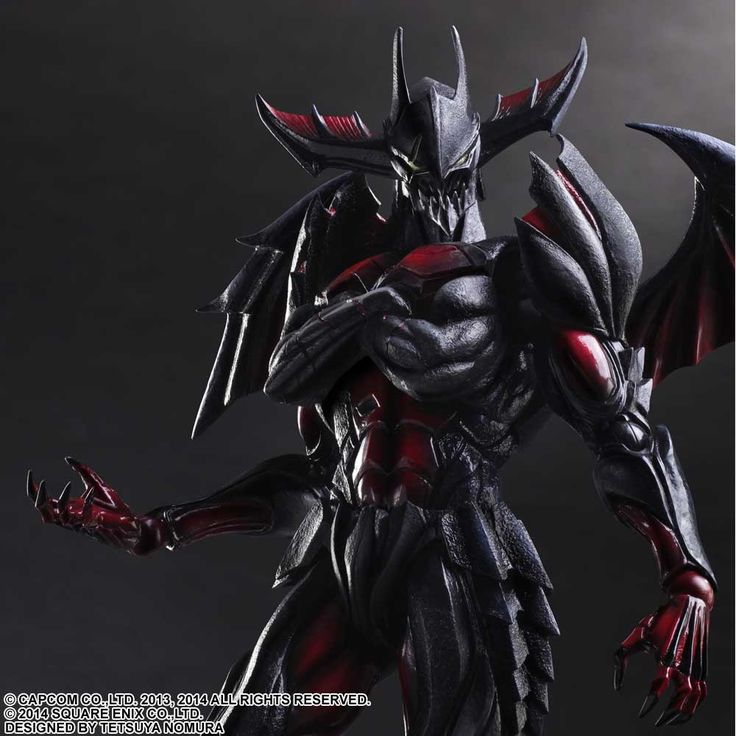 Monster Hunter 4 Ultimate PLAY ARTS KAI - [Diablos Armor] (Rage Set) | Square Enix Online Store
