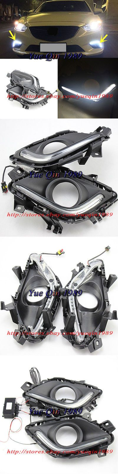 Motors Parts And Accessories: 1 Set Led White Daytime Day Fog Light Drl Lamp For Mazda 6 Atenza 2014-2016 -> BUY IT NOW ONLY: $92.99 on eBay!