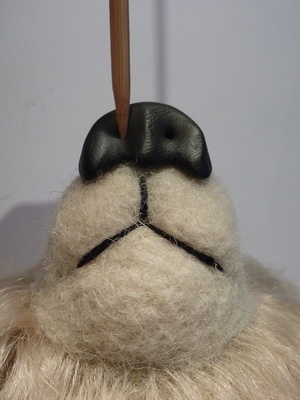 KALEideaSCOPE: Bear in Mind!: Polymer clay nose TUTORIAL
