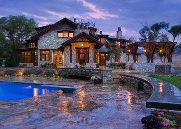 Ranch Manor - rustic - Exterior - Calgary - Mitchell Brock