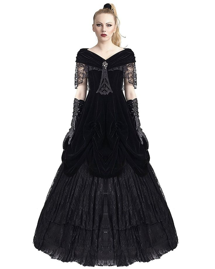 1000+ Ideas About Gothic Wedding Dresses On Pinterest