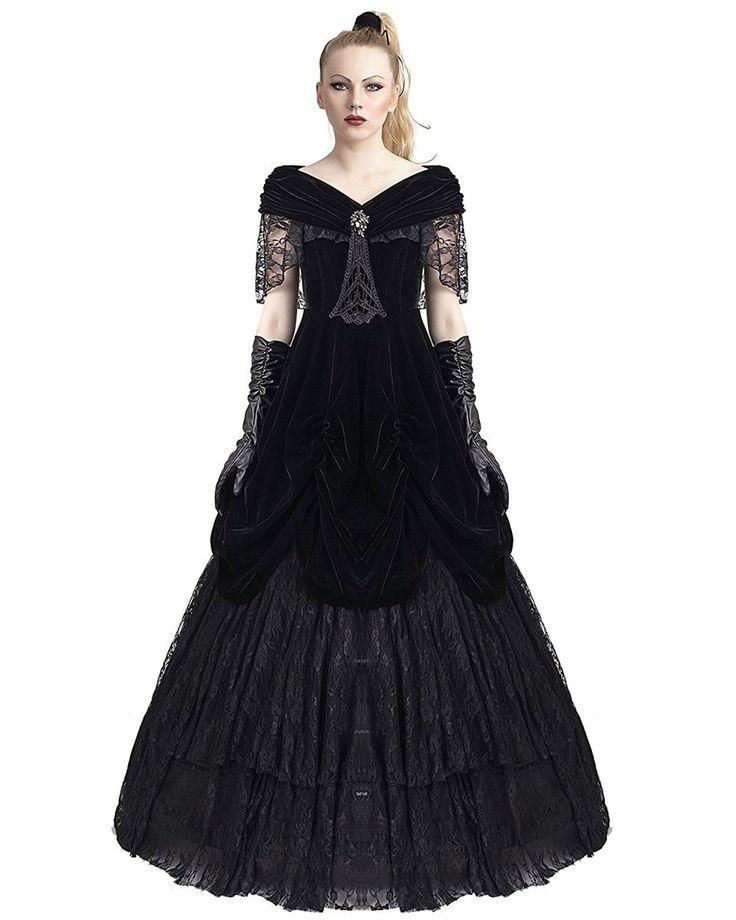 Plus Size Gothic Prom Dresses: 1000+ Ideas About Gothic Wedding Dresses On Pinterest