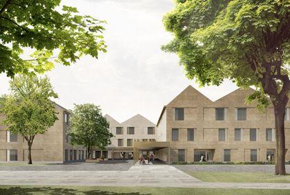 Sergison Bates architects Rue du Cendrier