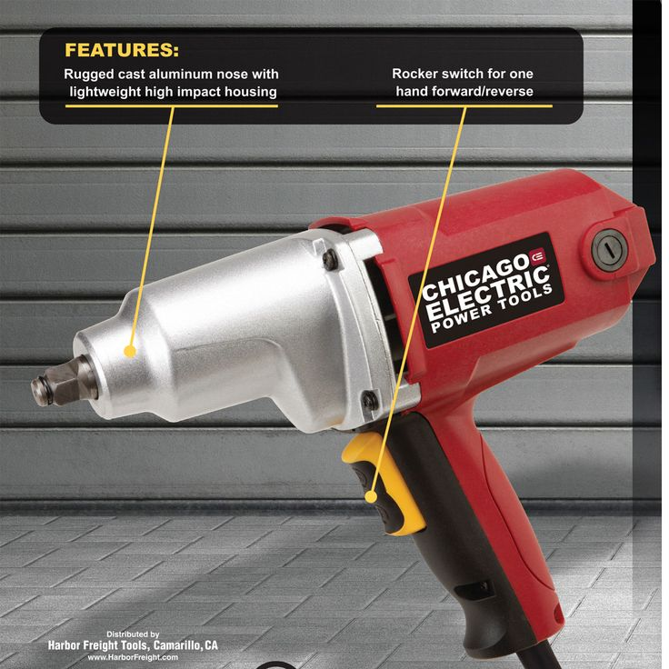 "1/2"" Electric Impact Wrench"