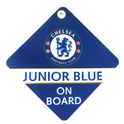 Chelsea FC Baby On Board Sign | Chelsea FC Gifts | Chelsea FC Shop