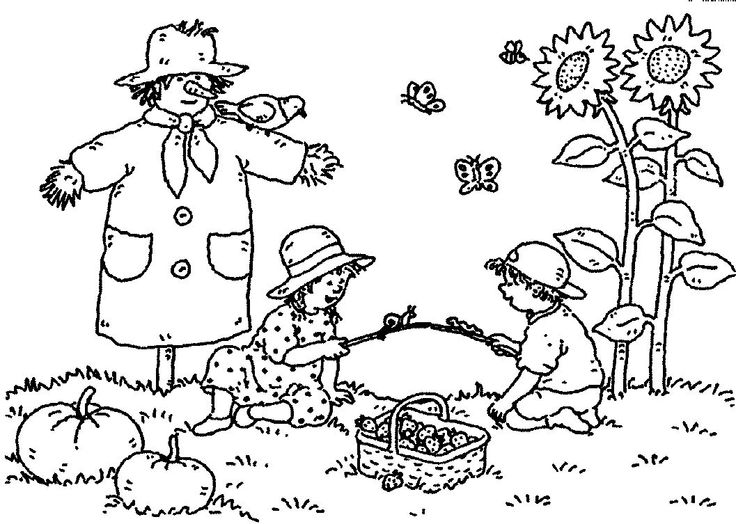 autumn coloring pages printable - Free Playground Coloring Pages