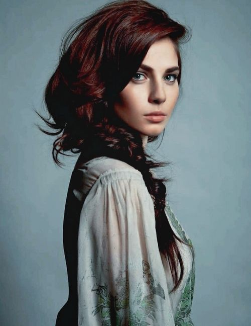 Dark Auburn Hair Color Ideas 2016