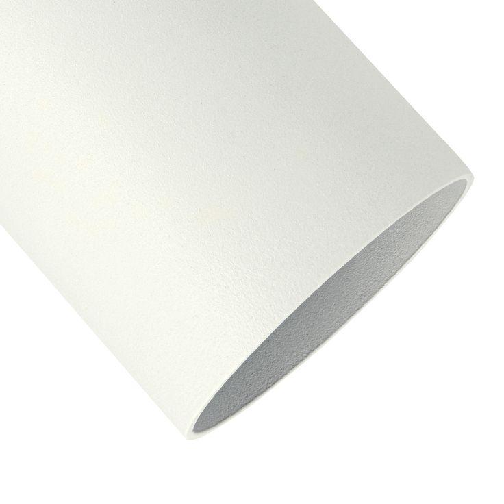 Point S Decken-Aufbau-Spot weiß mit wechselbarer Lampen Abdeckung