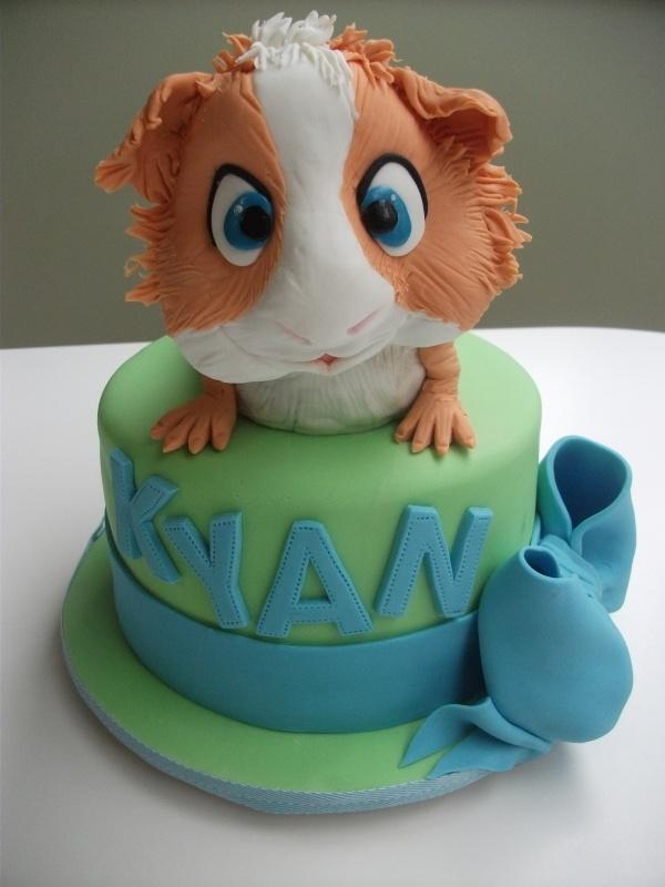 adorable Guinea Pig Cake