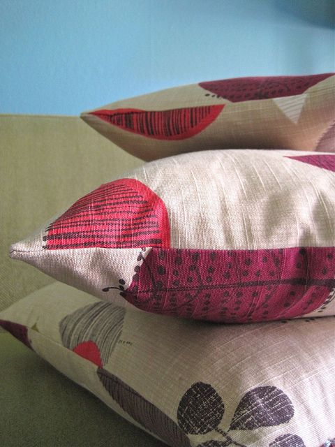 How To Make A Decorative Pillow With A Zipper : 7 best images about Pillow Making on Pinterest Quilt, Zippers and Throw pillows
